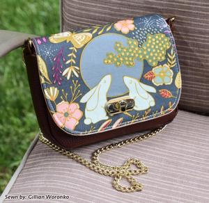 Milan Mini Bag - Pappersmönster