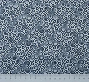 NouvElle - Reliefblomma blå