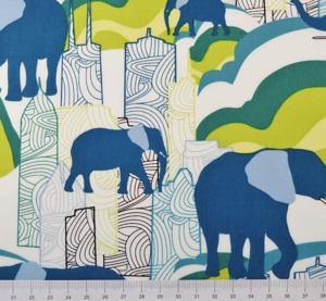 Jungle Ave - Elephant Skyline