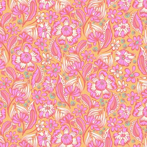 Tula Pink Chipper - Wild Vines Sorbet